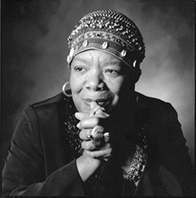 Maya Angelou Image Source: Wikimedia Commons